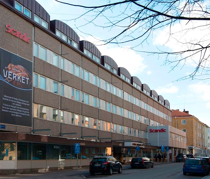 Scandic Hotel Sundsvall, en av Västekulla Hotells fastigheter
