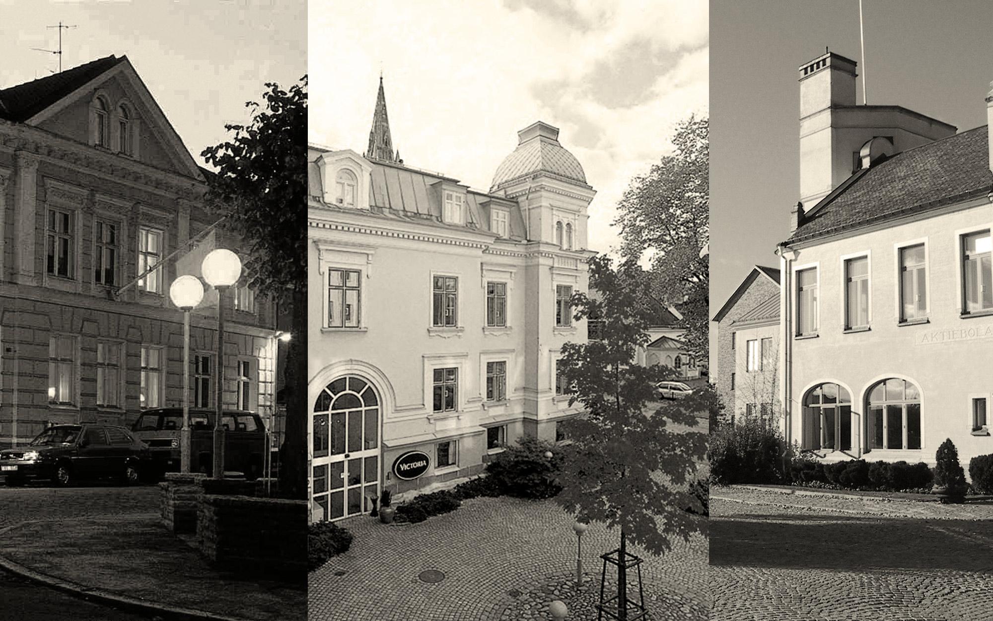 Västerkulla hotell, tre fastigheter