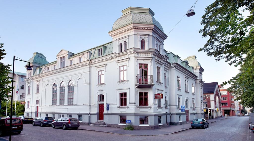Fasad hotell Victoria, Jönköping, Västerkulla hotell