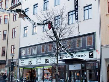 Exteriör, First Hotel Örebro