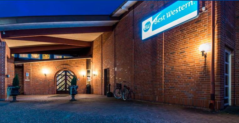 Best Western Gustav Wasa Hotel, exteriör