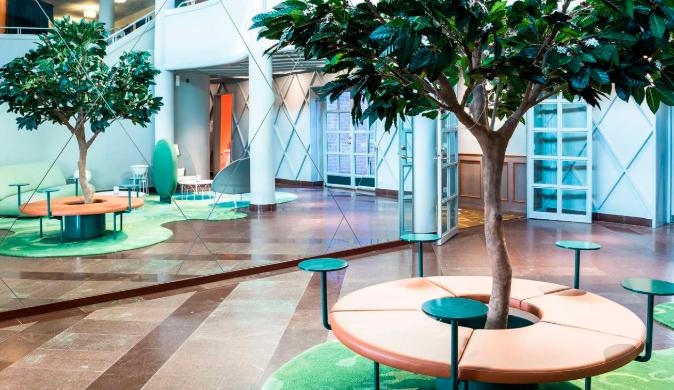 Gustav Wasa hotel lobby