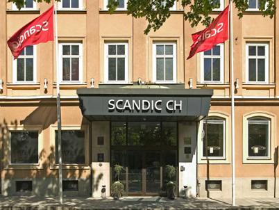 Västerkullahotell, Scandic CH i Gävle